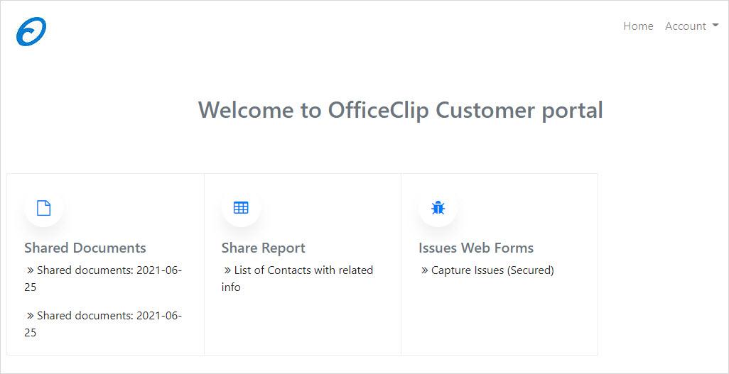 customer-portal-homepage