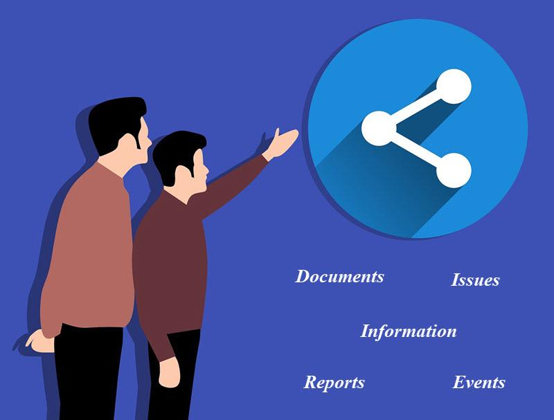 Share information via Customer portal