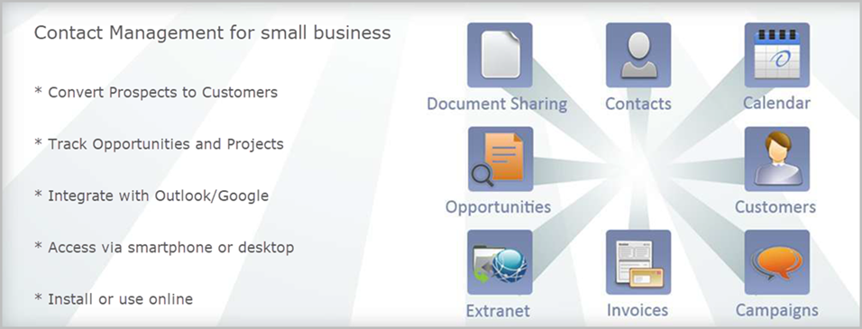 small business contact management software free