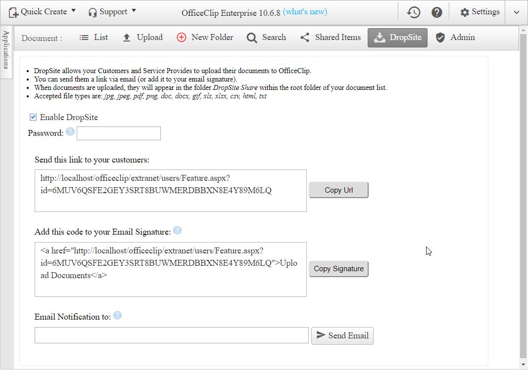 New in OfficeClip 10 6 4